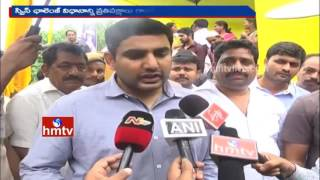 Nara Lokesh fumes at YSRCP comments on Swiss Challenge