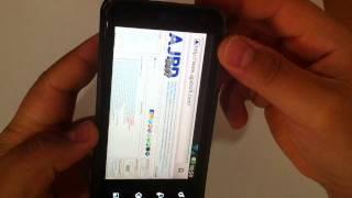 Screenshot En LG Optimus 2x, Captura De Pantalla