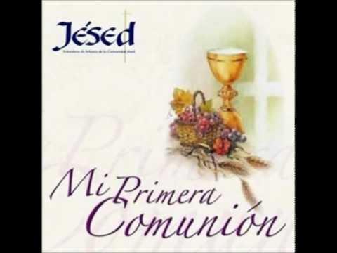MI PRIMERA COMUNION JESED