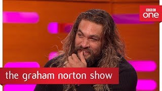 Jason Momoa from Game of Thrones speaks Dothraki - The Graham Norton Show: 2017 - BBC One