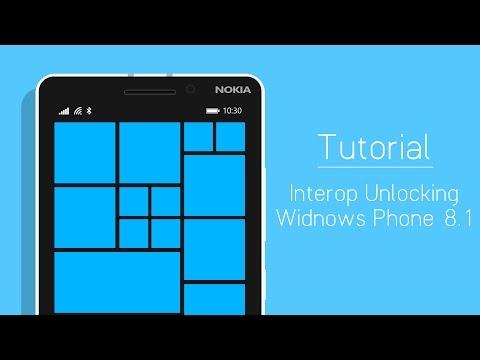 Hướng dẫn Interop Unlock thiết bị Windows Phone 8.1 - How to Interop Unlock Windows Phone 8.1