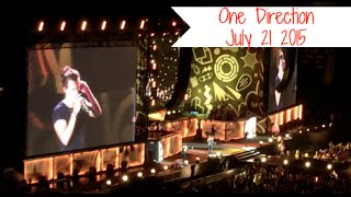 One Direction Concert In Edmonton Raw Footage July 21 2015