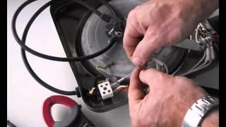 Reparación de resistencia eléctrica placa de cocina, fusible térmico fundido