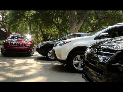 2014 jeep cherokee vs ford escape honda cr v hyundai for Jeep compass vs honda crv