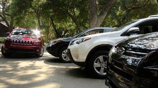 2014 Jeep Cherokee Vs Toyota RAV4 Vs Ford Escape Vs Honda