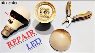 How to Repair LED Bulb at home | Fixing Easily