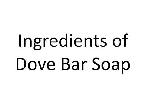 Dove Bar Soap A Step Towards Soft Skin - YouTube