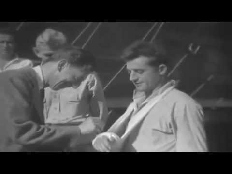 WW2 Newsreel: Ray Bolger In New Guinea (full)