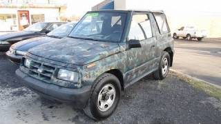 1995 Geo Tracker Start Up, Engine, and In Depth Tour