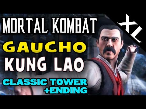 MK XL. Buzz Saw Kung Lao (Gaucho). Klassic Tower and story ending! (Full HD 1080p)