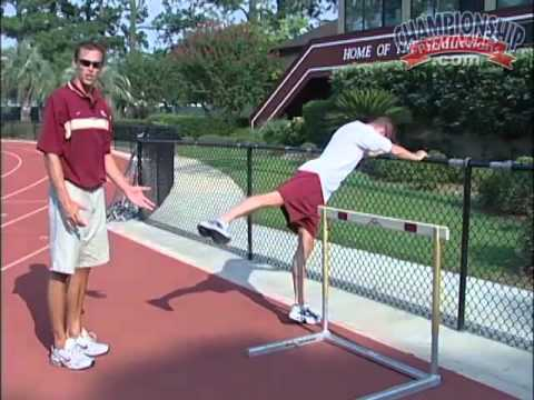 Utilize the Fence Hurdle Drill to Improve Mechanics! - Track 2015 #4