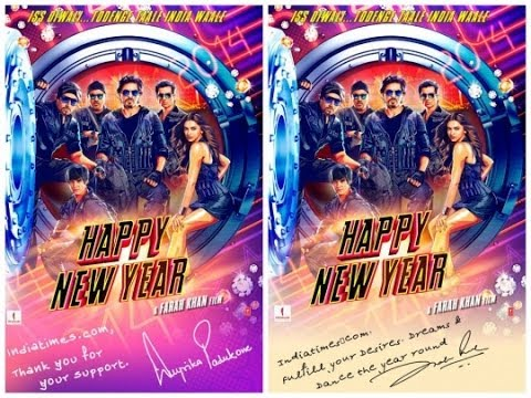 Happy New Year Poster | Releasing Diwali 2014