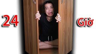 NTN - Thử Thách 24H Trong Tủ Kín ( 24H in the closet )