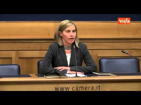 MOGHERINI: STOLTENBERG NUOVO SEGRETARIO NATO, FRATTINI D'ACCORDO