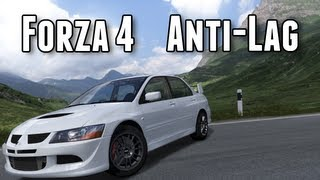 How To Get Forza 4 Anti-lag / Launch Control