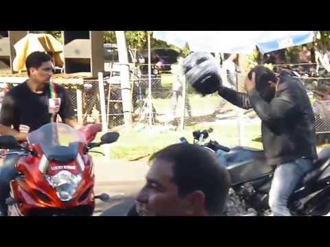 1° Etapa do campeonato gaucho de arrancada de motos empinando cb600 e srad 1000
