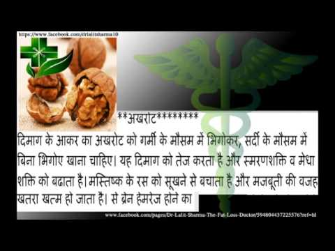 Strong Memory  Brain Hemorrhage  Eat Walnut  Hindi  Official Video 2015 - Latest - Healthy Life