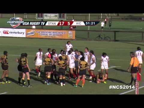 Women's DI Semi-Final - Stanford vs. American International