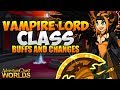 Vampire Lord Class Buffs Changes AQW AdventureQuest Worlds