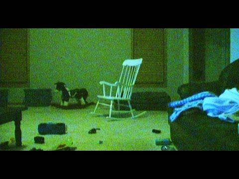 Ghost caught on tape