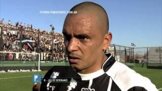 "Serrano ""Vamos partido a partido"". Estudiantes BA 1- Instituto 0. Copa Argentina 2014. 8vos. FPT"
