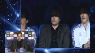 Rueda de prensa de Mourinho. Ida de semifinales de Champions: R. Madrid 0-2 Barça (27/04/2011)