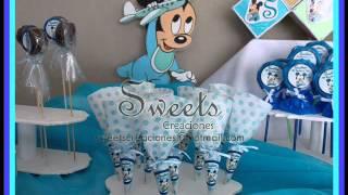 Decoración para fiestas: Mickey bebé
