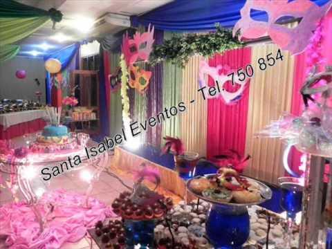 Decoraciones santa isabel 15 a os de carnaval youtube - Decoracion de carnaval ...
