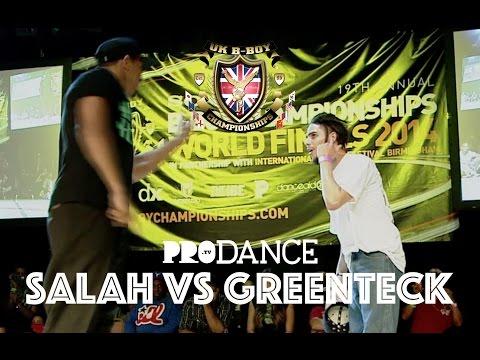 SALAH vs GREENTECK | UK B-Boy Championships 2014 - Popping Semi Final