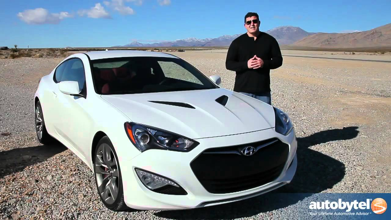 2013 Hyundai Genesis Coupe Test Drive & Car Review - YouTube