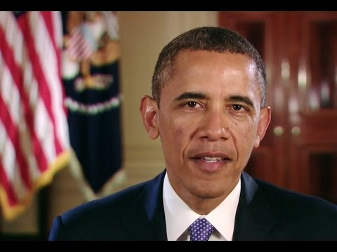 President Obama's Video Message for the 2013 Annual Martin Luther King Jr. Commemorative Service