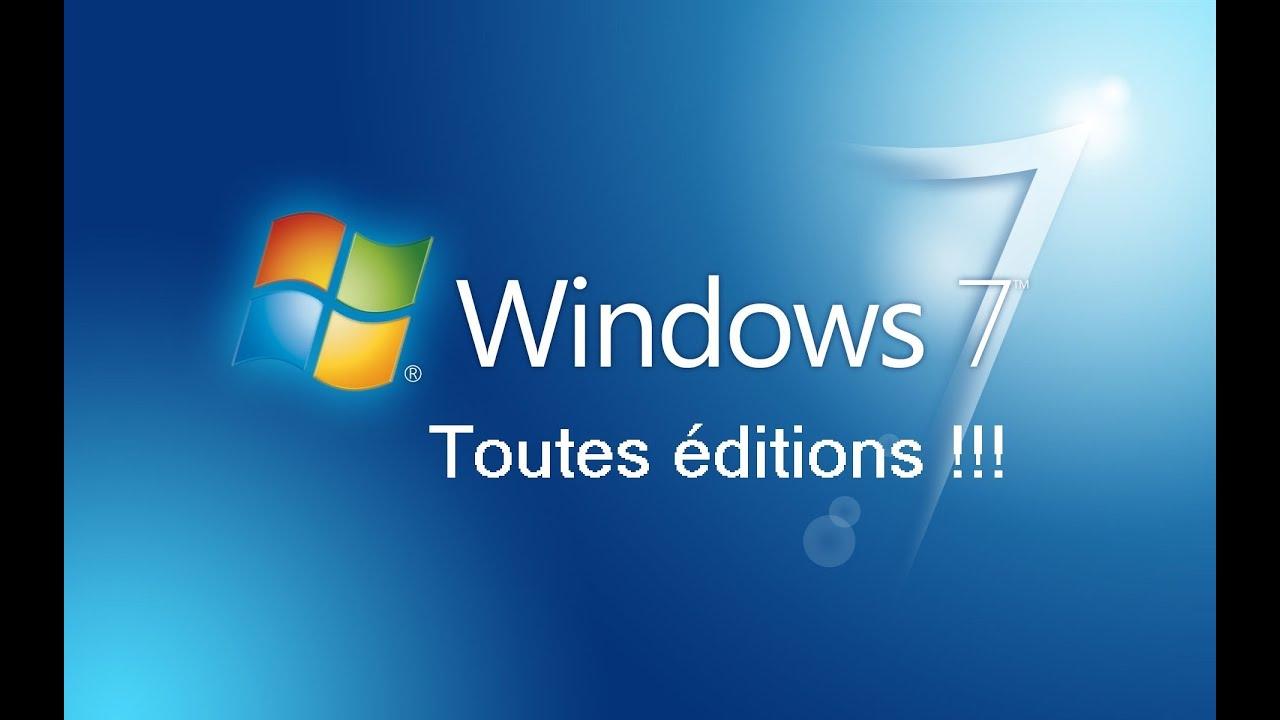 Windows 7 Legalement