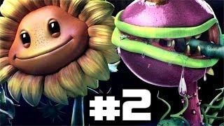 Plants Vs Zombies Garden Warfare Gameplay Walkthrough Part
