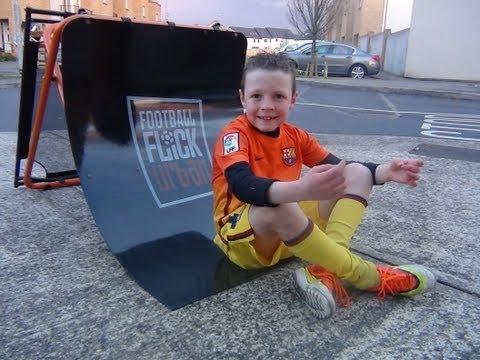 Football Flick Urban Orange