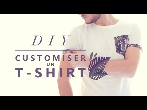 JOUR 16 : CUSTOMISER UN T-SHIRT - TUTO COUTURE FACILE