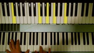 How To Play : My Body Young The Giant On Piano PTM