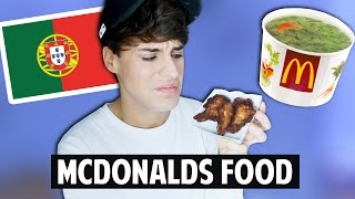 PORTUGUESE MCDONALD'S Food Test