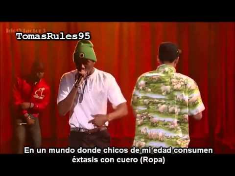 Tyler The Creator - Rusty (VIVO) Letterman Subtitulado Al Español ...