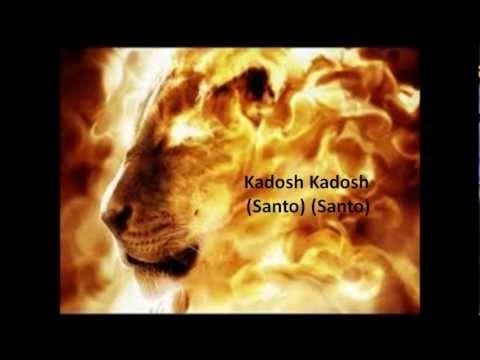 Santo (Kadosh) - Hebraico Canção Messiânica com letras em português