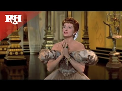 Yul Brynner and Deborah Kerr perform