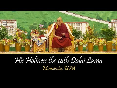 Dalai Lama speech to Minnesota Tibetans
