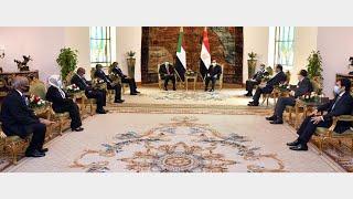 الرئيس عبد الفتاح السيسي يستقبل رئيس
