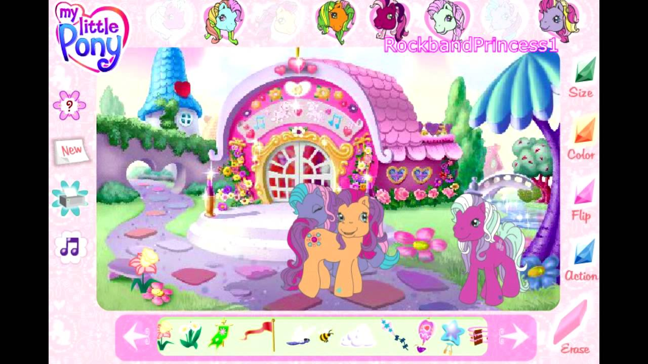 My Little Pony Online Games Friendship Ball Game - YouTube