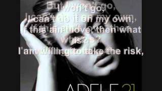 Adele - He Won't Go + Lyrics