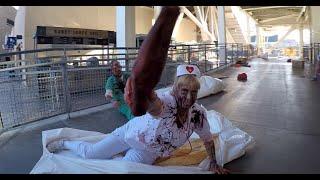 [2015] The Walking Dead Escape : FULL Course : Comic-Con  (San Diego, CA)