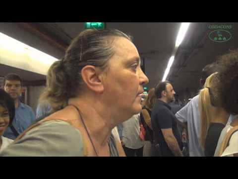 293Roma, sciopero metro Atac: reportage