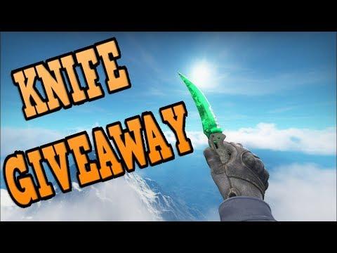CS:GO FREE KNIFE - GIVEAWAY!