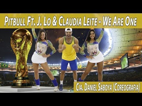 Pitbull Ft. J. Lo & Claudia Leite - We Are One Cia. Daniel Saboya (Coreografia)