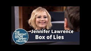 Jennifer Lawrence Tries to Out Lie Jimi Fallon