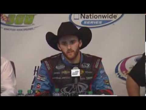 Austin Dillon 2013 NNS Champion NASCAR Video News Conference
